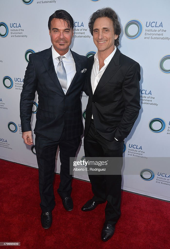 Eric Shiffer, CEO of Digitalmarketing.com and producer Lawrence Bender attend An Evening of Environmental Excellence presented by the UCLA Institute of the Environment and Sustainability on March 21, 2014 in Beverly Hills, California.