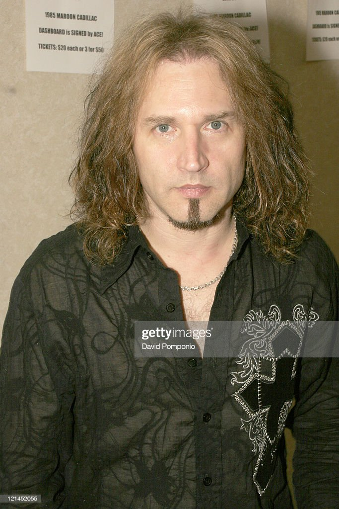 Eric Singer of Kiss during 19th Annual New York KISS Expo And Hard Rock Convention at Crowne Plaza Hotel in Secaucus, New Jersey, United States.