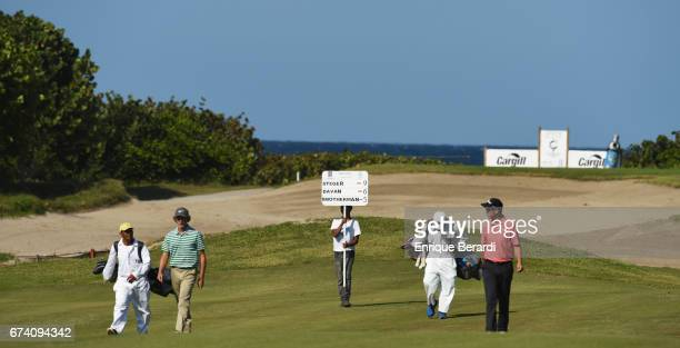 Eric Steger of the United States during the third round of the PGA TOUR Latinoamérica Honduras Open presented by Indura Golf Resort at Indura Golf...