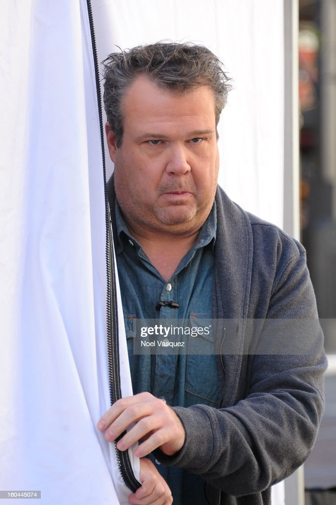 Eric Stonestreet visits Extra at The Grove on January 31, 2013 in Los Angeles, California.