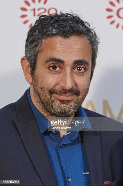 Eric Toledano attends 'Samba' photocall at the French Embassy on February 12 2015 in Madrid Spain
