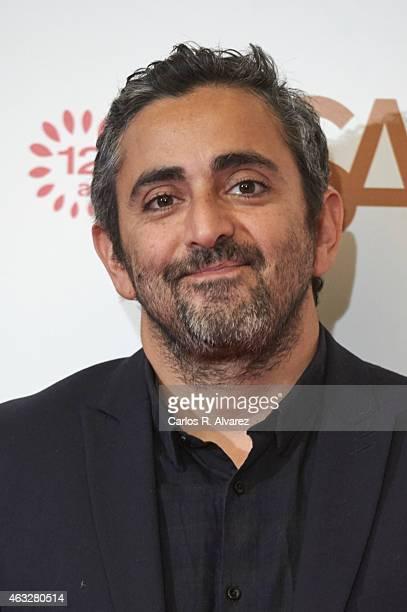 Eric Toledano attends 'Samba' premiere at the Palafox cinema on February 12 2015 in Madrid Spain