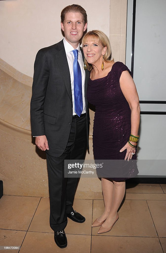 <a gi-track='captionPersonalityLinkClicked' href=/galleries/search?phrase=Eric+Trump&family=editorial&specificpeople=1283906 ng-click='$event.stopPropagation()'>Eric Trump</a> and Lisa Lampanelli attend Henri Bendel holiday window unveiling 2012 at Henri Bendel on November 15, 2012 in New York City.
