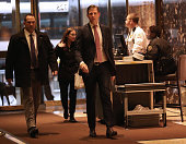 new york ny eric trump arrives