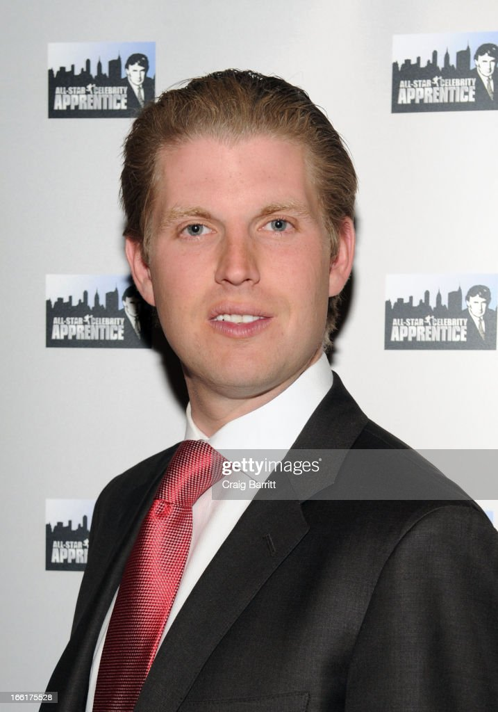 Eric Trump attends 'Celebrity Apprentice All-Star' event at Trump Tower on April 9, 2013 in New York City.