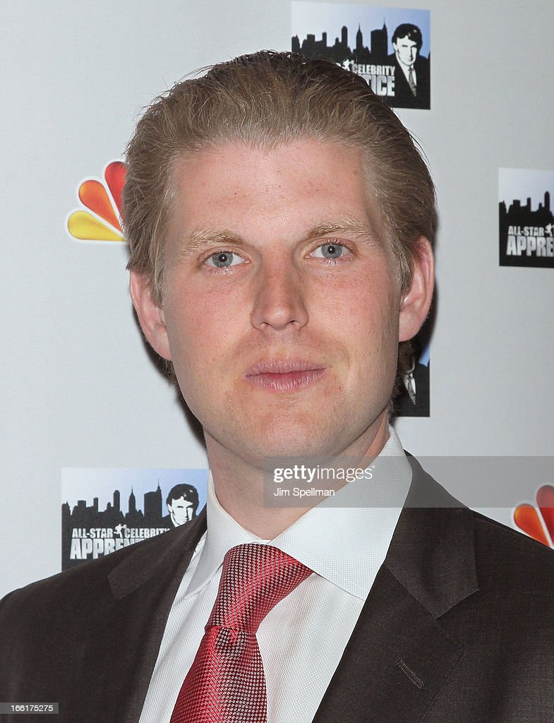 <a gi-track='captionPersonalityLinkClicked' href=/galleries/search?phrase=Eric+Trump&family=editorial&specificpeople=1283906 ng-click='$event.stopPropagation()'>Eric Trump</a> attends the 'Celebrity Apprentice All-Star' event at Trump Tower on April 9, 2013 in New York City.