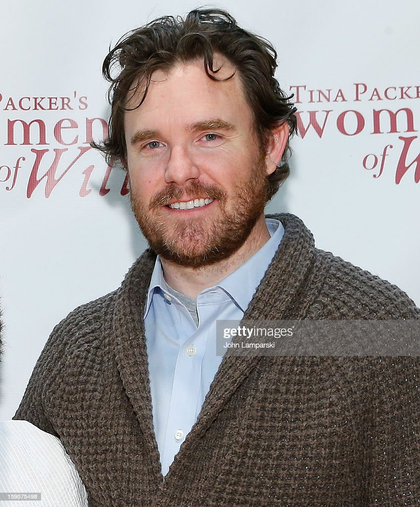 Eric Tucker attends Tina Packer's 'Women of Will' cast photo call at The Gym at Judson on January 16, 2013 in New York City.