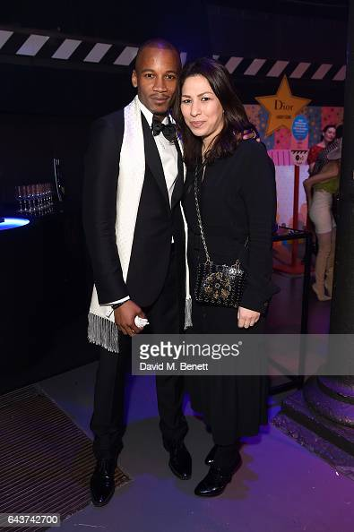 Eric Underwood and guest attend LondonÕs Fabulous Fund Fair hosted by Natalia Vodianova and Karlie Kloss in support of The Naked Heart Foundation on...