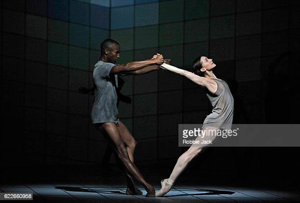 Eric Underwood and Marianela Nunez in the Royal Ballet's production of Wayne McGregor's Multiverse at The Royal Opera House Covent Garden on November...
