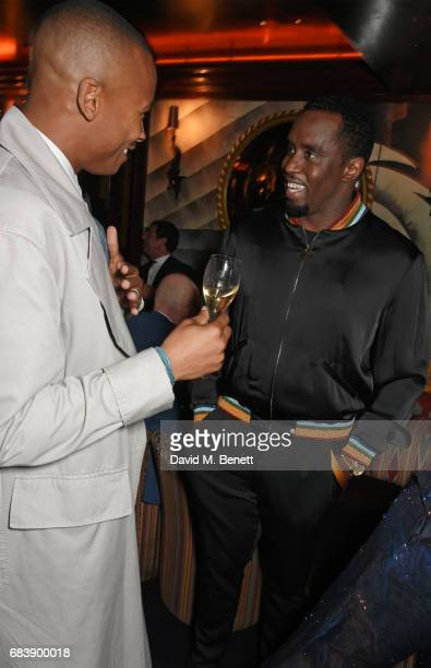Eric Underwood and Sean 'Diddy' Combs attend the 'Can't Stop Won't Stop A Bad Boy Story' dinner hosted by Sean 'Diddy' Combs Naomi Campbell presented...