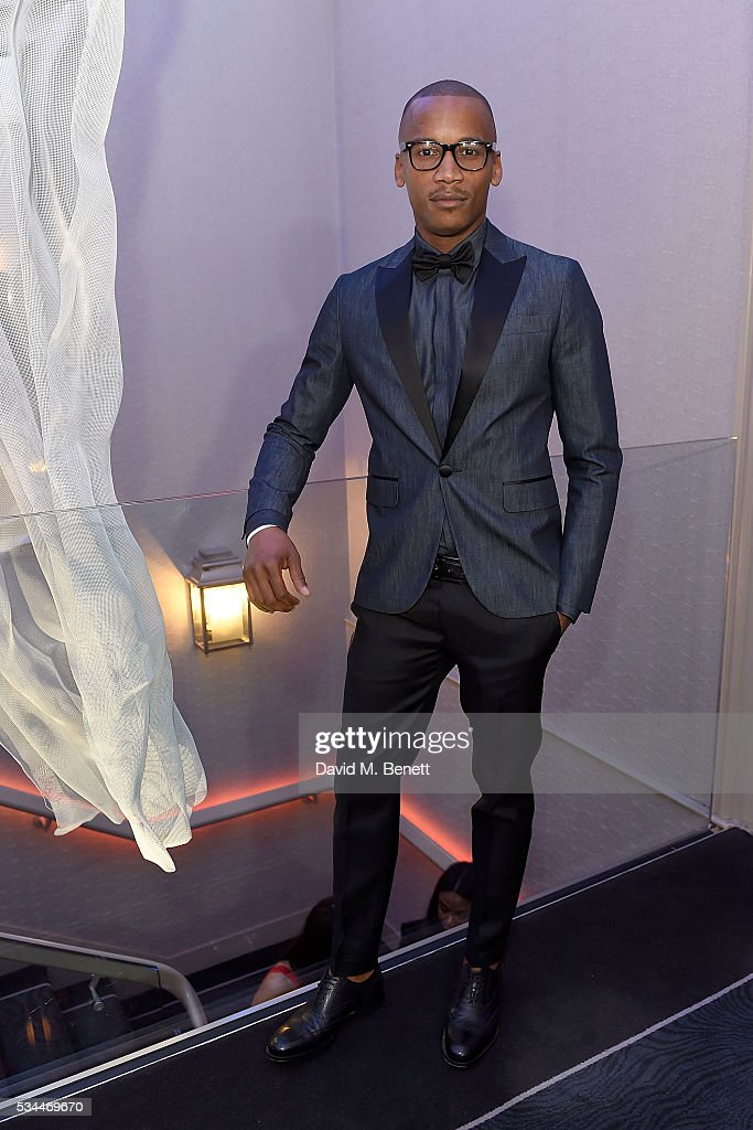Eric Underwood arrives at the WGSN Futures Awards 2016 on May 26, 2016 in London, England.