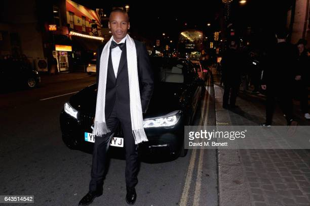 Eric Underwood arrives in style in the BMW 7 Series at Fund Fair event in aid of supermodel Natalia Vodianovas charity the Naked Heart Foundation on...