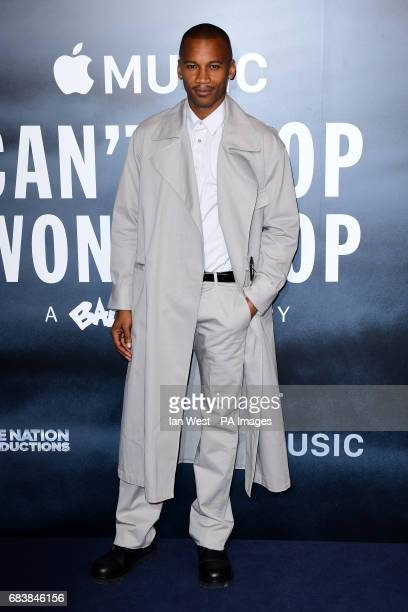 Eric Underwood attending the Can't Stop Won't Stop A Bad Boy Story screening at the Curzon Mayfair Curzon Street London