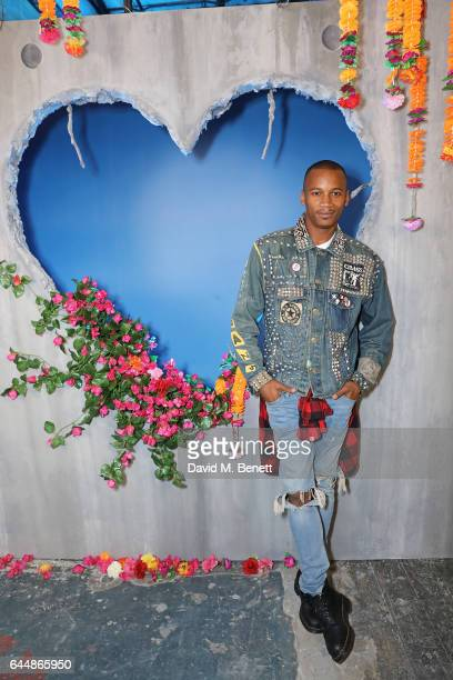 Eric Underwood attends Diesel Make Love Not Walls Global Event on February 19 2017 in London England