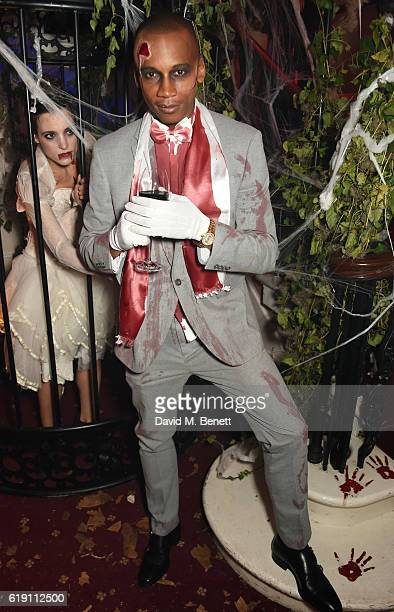 Eric Underwood attends Halloween at Annabel's at 46 Berkeley Square on October 29 2016 in London England