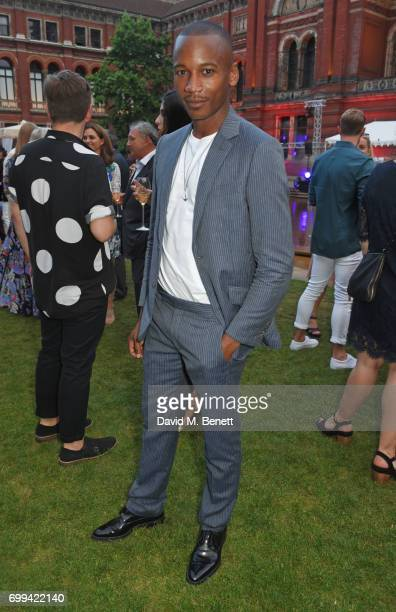 Eric Underwood attends the 2017 annual VA Summer Party in partnership with Harrods at the Victoria and Albert Museum on June 21 2017 in London England