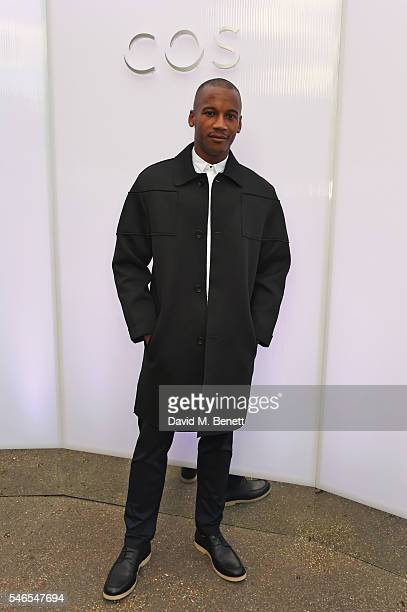 Eric Underwood attends the COS celebrates The Serpentine Park Nights 2016 at The Serpentine Gallery on July 12 2016 in London England