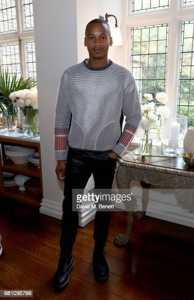 Eric Underwood attends the FRAME X Ben Gorham menswear launch on May 9 2017 in London England