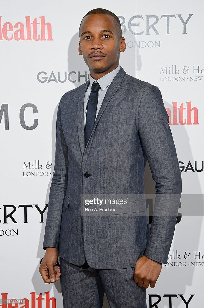 Eric Underwood attends the Men's Health x Liberty x YMC party during The London Collections: Men Autumn/Winter 2014 on January 7, 2014 in London, England.