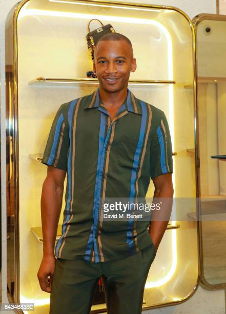 Eric Underwood attends the opening of the 'F Is Fendi' popup store at Harrods on September 6 2017 in London England