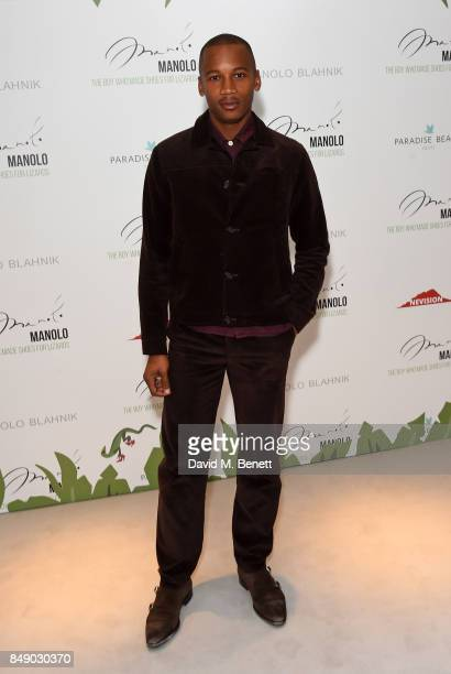 Eric Underwood attends the screening of 'Manolo The Boy Who Made Shoes For Lizards' during London Fashion Week September 2017 at Curzon Bloomsbury on...