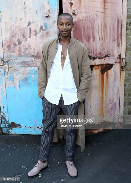 Eric Underwood attends 'TOPMAN DESIGN Presents Transition' for LFWM at The Truman Brewery on June 9 2017 in London England