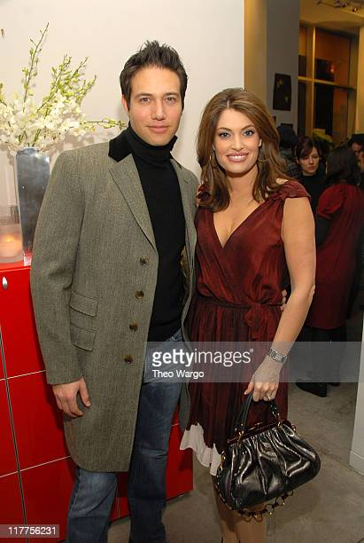 Eric Villency and Kimberly Guilfoyle Villency during MAURICE VILLENCY Celebrates THAKOON Spring 2007 Collection at Maurice Villency in New York City...