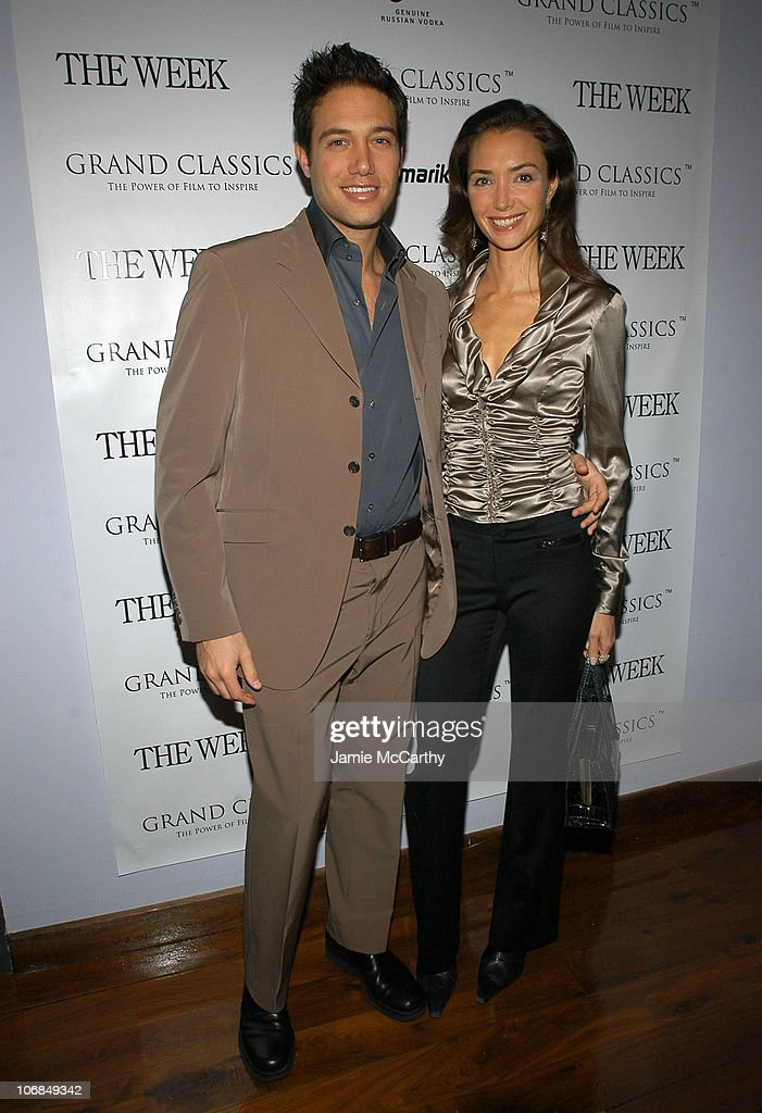 Eric Villency and Olivia Chantecaille at the Grand Classics screening of 'Tootsie' sponsored by The Week