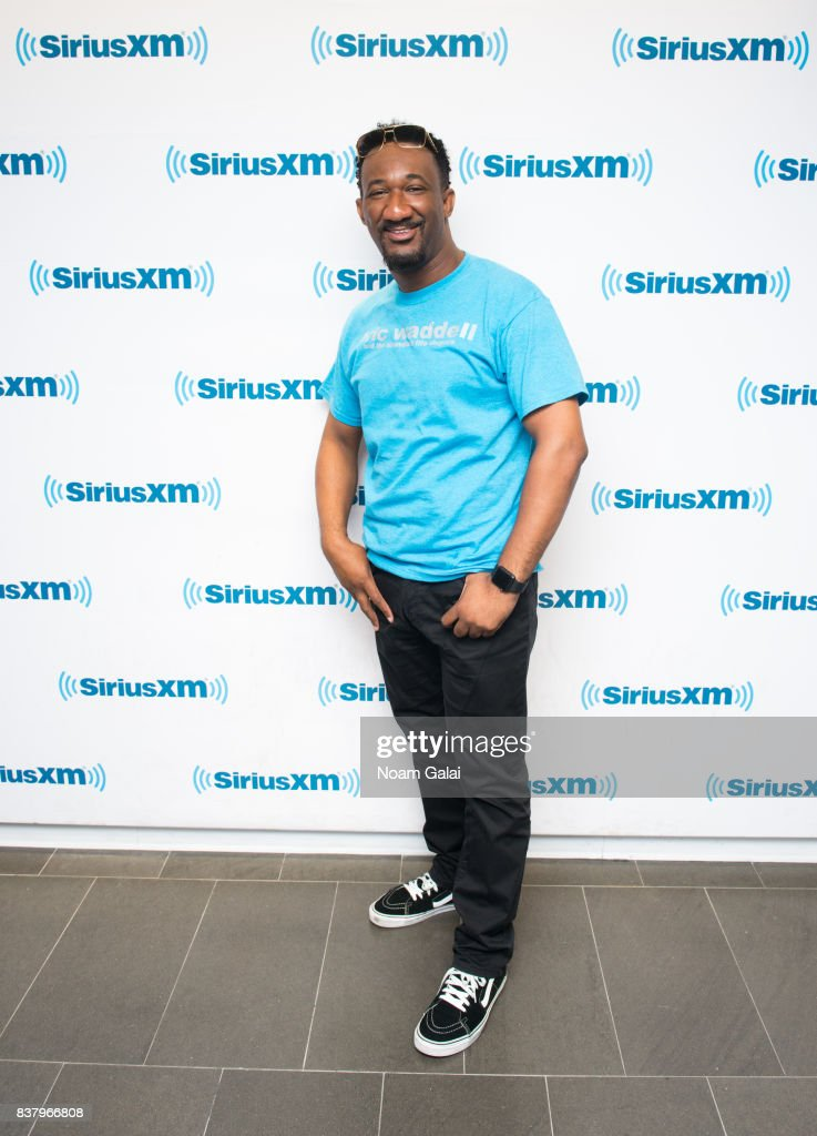 Eric Waddell visits the SiriusXM Studios on August 23, 2017 in New York City.