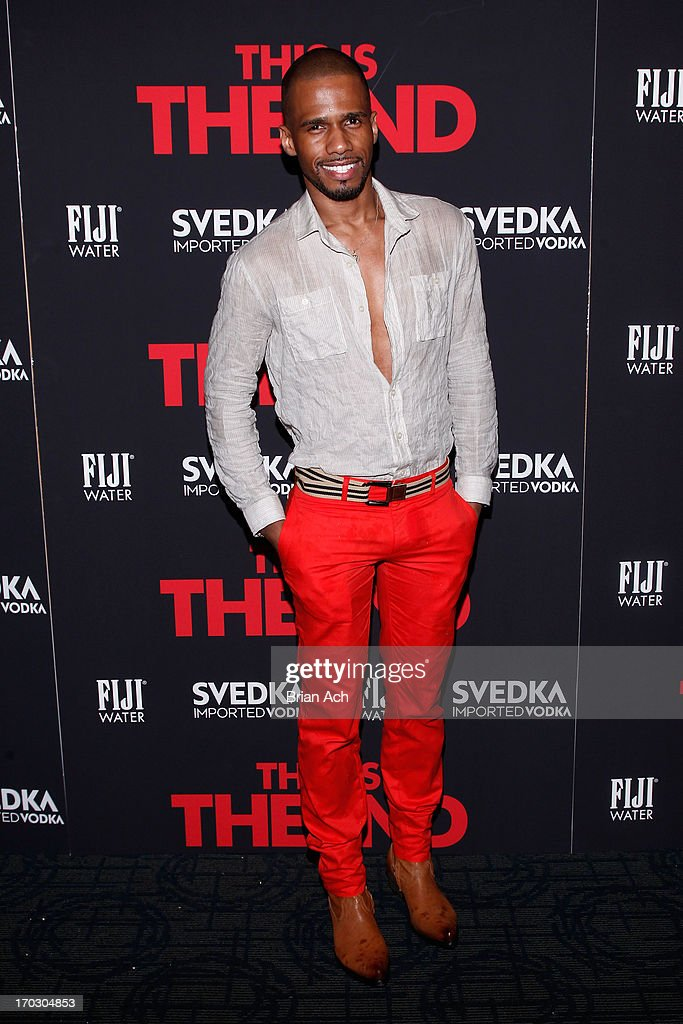 Eric West attends a special New York screening of Columbia Pictures' 'This Is The End' presented by FIJI water on June 10, 2013 in New York City.