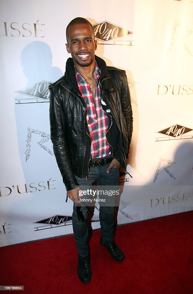 Eric West attends Rihanna's 'Unapologetic' Record Release Party at 40 / 40 Club on November 20, 2012 in New York City.