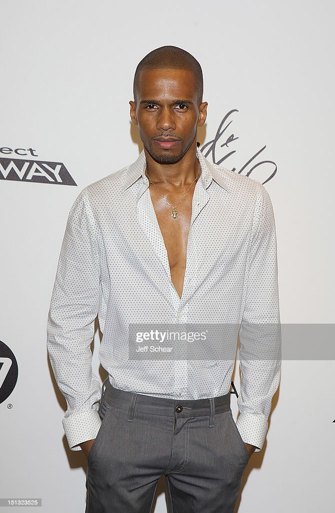 Eric West attends the Project Runway Season 10 Wrap Party at Lord & Taylor on September 5, 2012 in New York City.