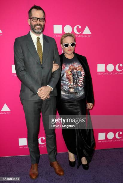 Eric White and actress Patricia Arquette attend the 2017 MOCA Gala at The Geffen Contemporary at MOCA on April 29 2017 in Los Angeles California