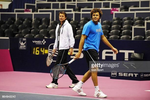Eric WINOGRADSKY / Jo Wilfried TSONGA Grand Prix de Tennis de Lyon 2009 Palais des Sports de Gerland Lyon