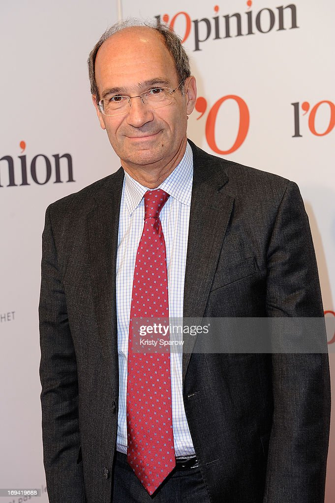 Eric Woerth attends the 'L'Opinion' Newspaper Launch Party on May 14, 2013 in Paris, France.