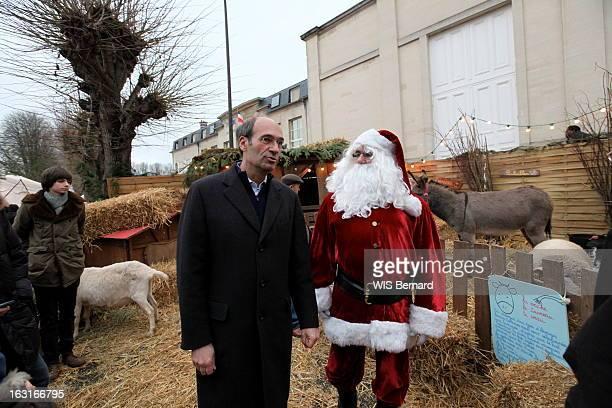 Eric Woerth Mayor Of Chantilly Find Again His Seat Of Deputy Of The Oise Chantilly samedi 11 décembre 2010 Eric WOERTH dans la ville dont il est le...