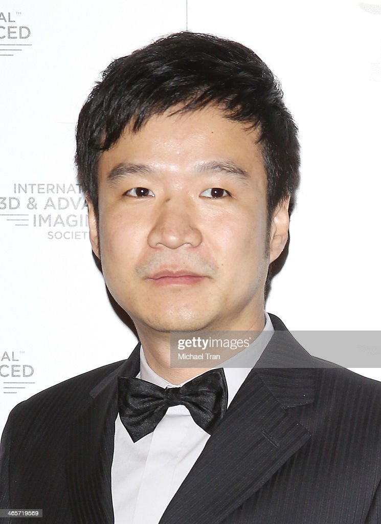 Eric Xu arrives at the 2014 International 3D and Advanced Imaging Society's Creative Arts Awards held at Steven J. Ross Theatre on January 28, 2014 in Burbank, California.