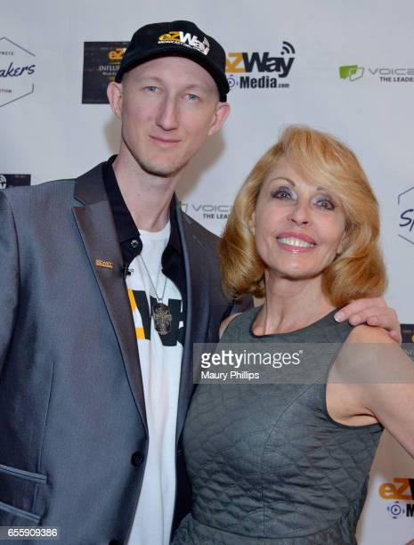 Eric Zuley and Shea Vaughn arrive at the 1st Annual Influencers Unite Gala and Eric Zuley birthday celebration on March 18 2017 in Dana Point...