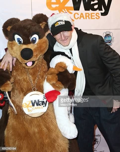 Eric Zuley arrives at eZWayCares Community Santa Toy Drive on December 18 2016 in Los Angeles California