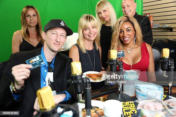 Eric Zuley Eugenia Kuzminz and Dante Sears attend EZ Talk Live on September 6 2016 in Hollywood California