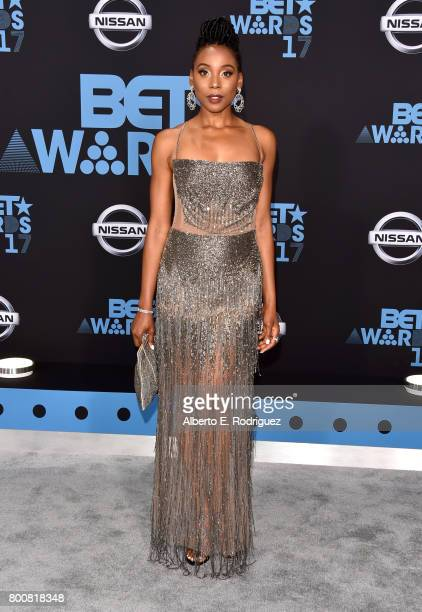 Erica Ash at the 2017 BET Awards at Microsoft Square on June 25 2017 in Los Angeles California