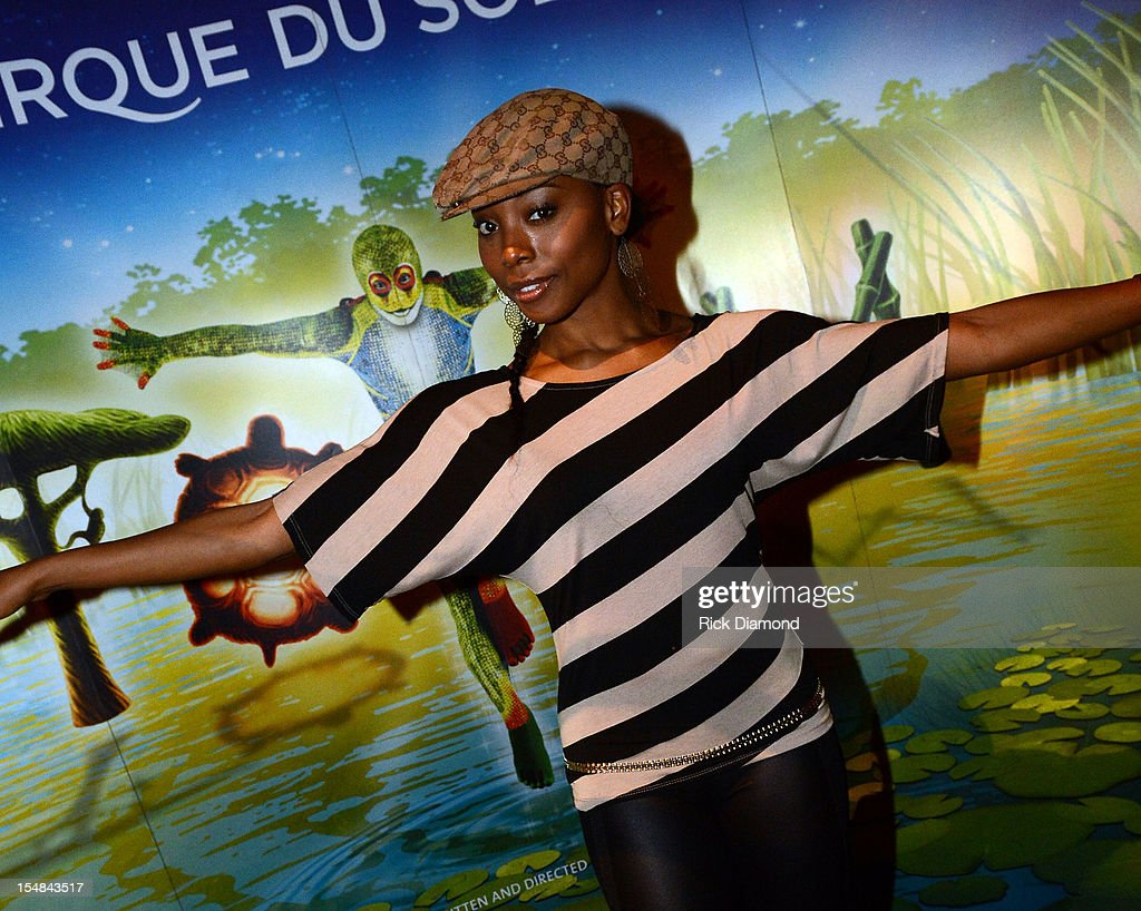 Erica Ash of 'Scary Movie 5' attends Cirque du Soleil TOTEM Premiere at Atlantic Station on October 26, 2012 in Atlanta, Georgia.