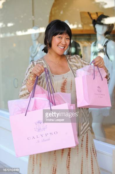 Erica Chan attends 'A Balanced Life' discussion panel event at Calypso St Barth at Stanford Shopping Center on April 18 2013 in Palo Alto California