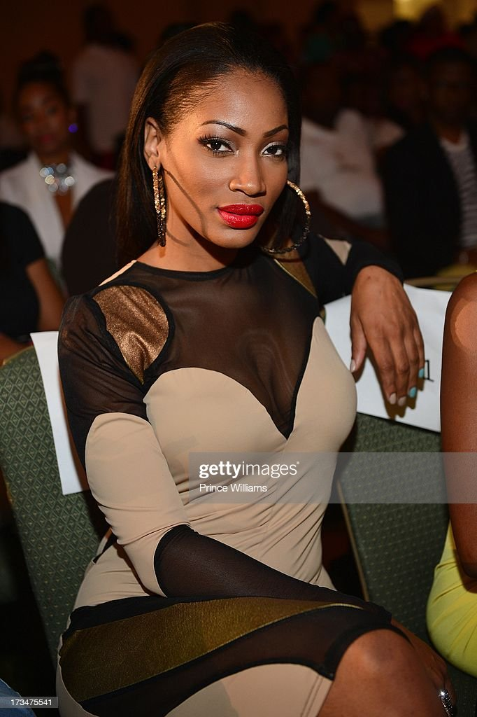 Erica Dixon attends the Style Experience hosted By Cynthia Bailey, Rasheeda and Kirk Frost And Benzino at Cobb Galleria Renaissance on July 14, 2013 in Atlanta, Georgia.