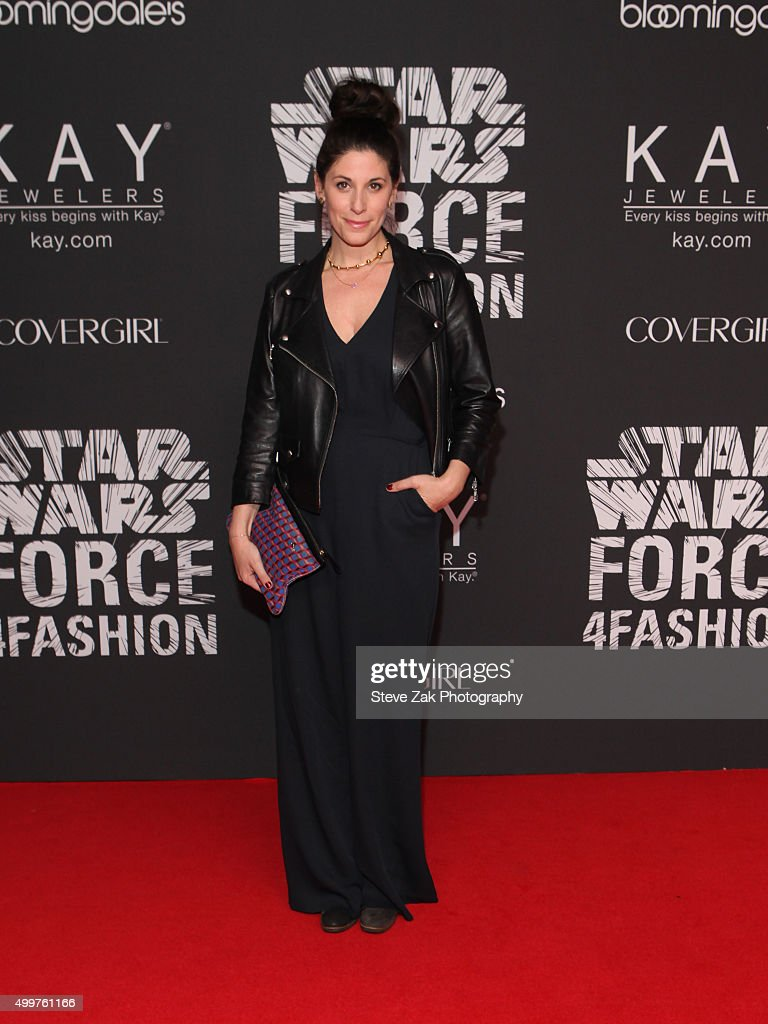 Erica Domesek attends Star Wars 'Force 4 Fashion' launch event at Skylight Modern on December 2, 2015 in New York City.