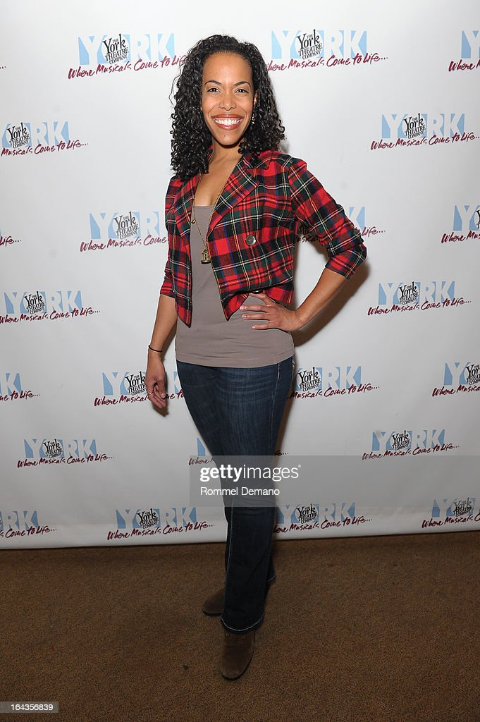 Erica Dorfler attends the off-Broadway opening night of 'Silk Stockings' at The York Theatre at Saint Peter's on March 22, 2013 in New York City.