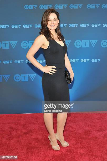 Erica Durance attends CTV Upfront 2015 Presentation at Sony Centre For Performing Arts on June 4 2015 in Toronto Canada