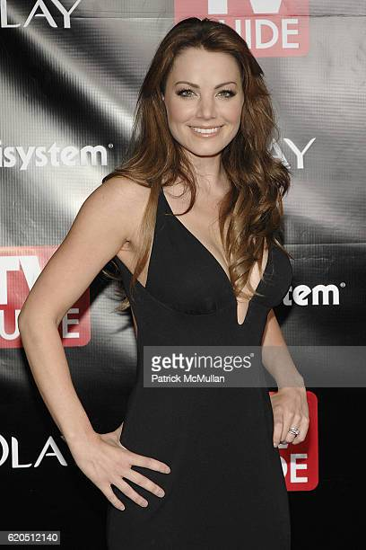 Erica Durance attends TV Guide's Sixth Annual Emmy After Party at Kress on September 21 2008 in Hollywood CA