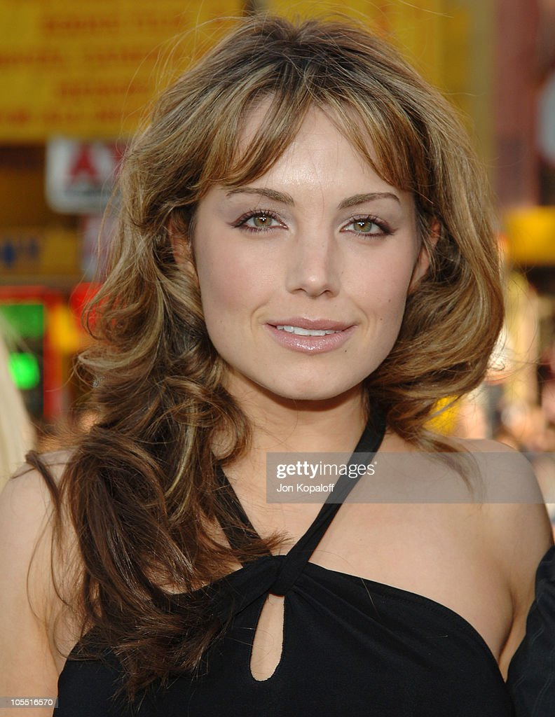<a gi-track='captionPersonalityLinkClicked' href=/galleries/search?phrase=Erica+Durance&family=editorial&specificpeople=534466 ng-click='$event.stopPropagation()'>Erica Durance</a> during 'Batman Begins' Los Angeles Premiere - Arrivals at Grauman's Chinese Theater in Hollywood, California, United States.