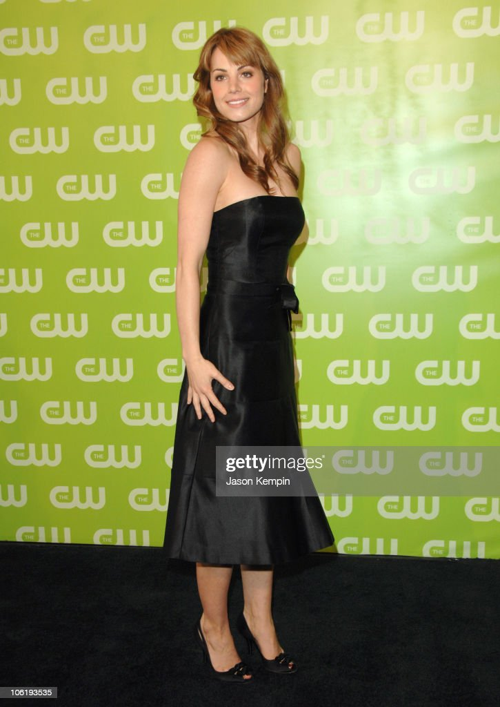 <a gi-track='captionPersonalityLinkClicked' href=/galleries/search?phrase=Erica+Durance&family=editorial&specificpeople=534466 ng-click='$event.stopPropagation()'>Erica Durance</a> during The 2007 CW Network Upfront - Arrivals at Madison Square Garden in New York City, New York, United States.